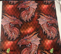 WW Red Dragons Leggings NonSkull