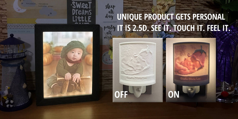 Create Your Personalized 2.5D Photo Night Light