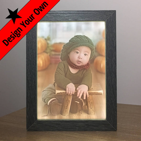 Baby 2.5D Photo with Backlit Frame