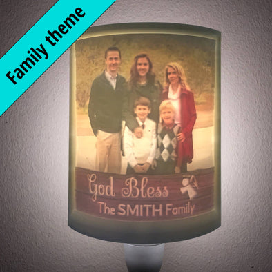 Family Personalized 2.5D Flexible Light