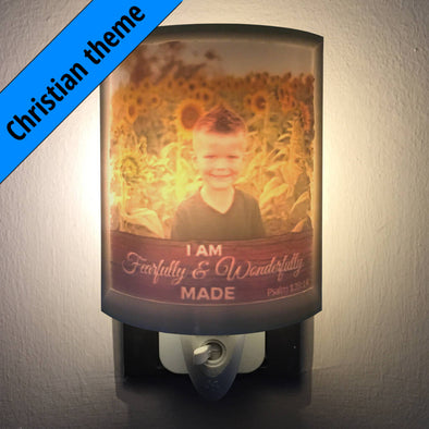 Christian Personalized 2.5D Night Light