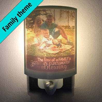 Family Personalized 2.5D Night Light
