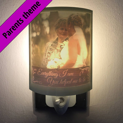 Parents Personalized 2.5D Night Light