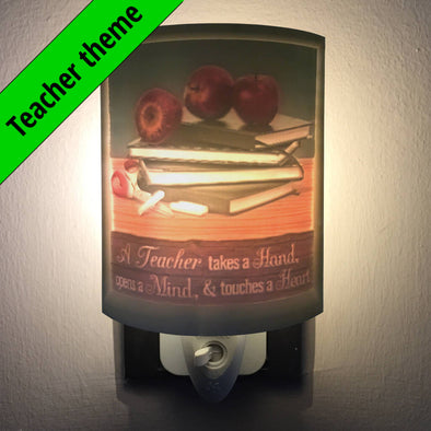 Teacher Personalized 2.5D Night Light