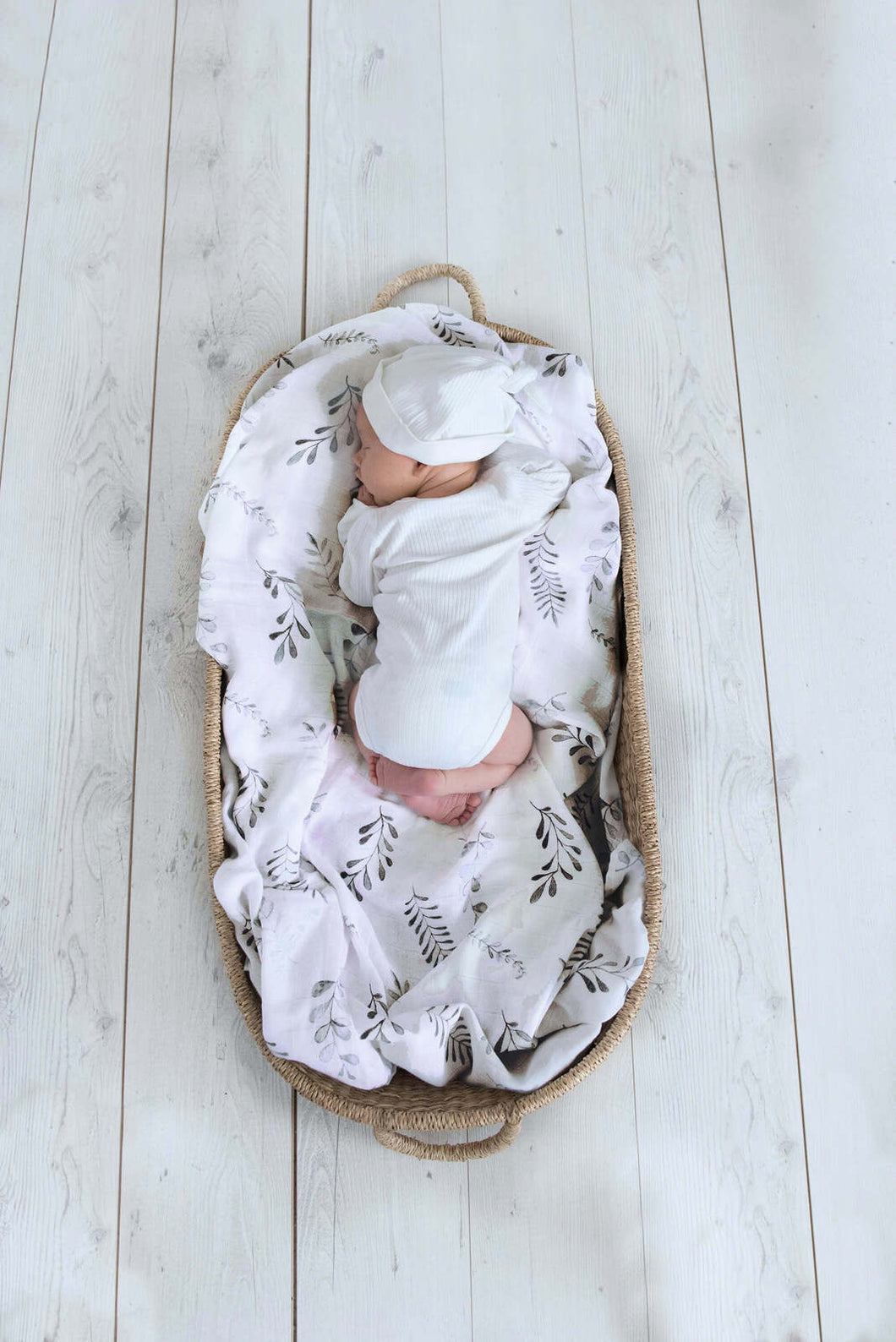 Fern Organic Cotton Muslin Wrap