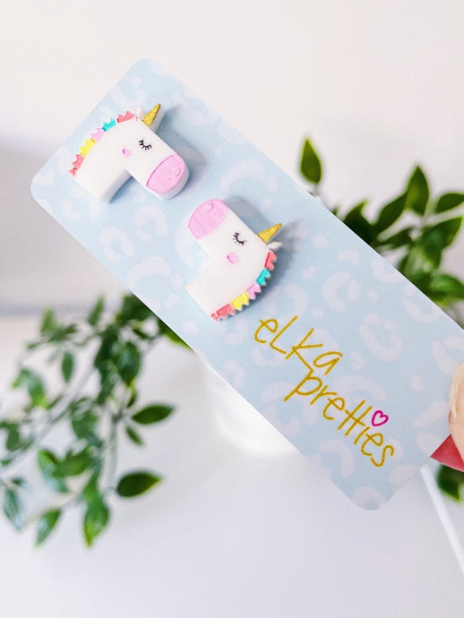 Unicorn Mini Studs