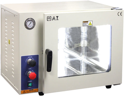 AI AccuTemp 1.9 CF Vacuum Chamber NO HEATING FUNCTION SST Tubing/Valves