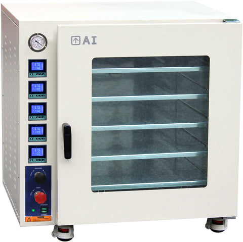 AI AccuTemp 7.5 CF 480°F Vacuum Oven All SST Tubing & Valves