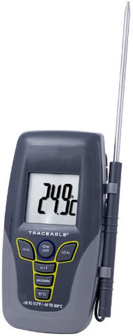 "Traceable Kangaroo 300°C Digital Thermometer with 4"" SST Probe"