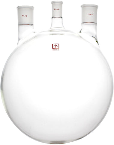 AI 24/40 34/45 Heavy Wall 10L Round Bottom 3-Neck Flask