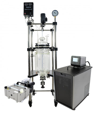 20L Best Value Double Jacketed Glass Reactor Turnkey Setup