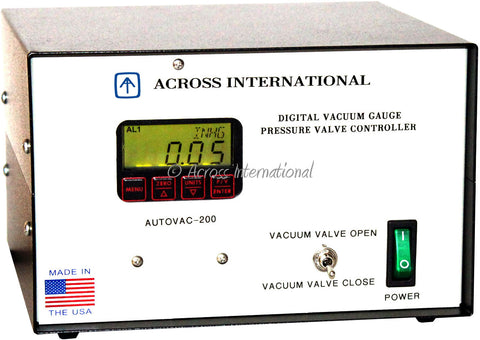 AI Automatic Vacuum Controller with Digital Vacuum Gauge