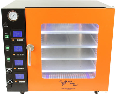 Vacuum Drying Ovens 3.2CF BVV - LCD Display and LED's - 4 Individually Heated Shelves