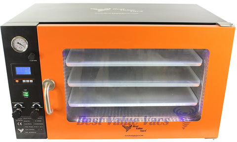 Vacuum Drying Ovens 3.2CF WIDE BVV - LCD Display and LED's - 3 Individual Heated Shelves