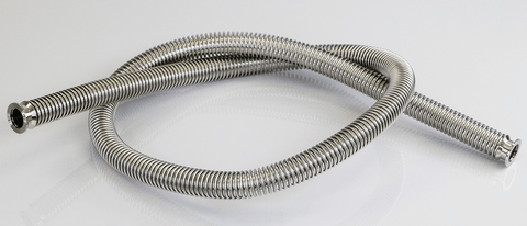 Vacuum Oven Parts KF-25 Bellow Fitting Hose 6'
