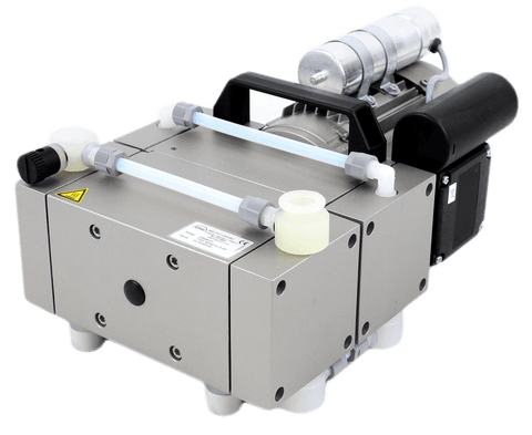 Welch 2.3 cfm High Capacity 4-Head Oil-Free Diaphragm Chemical Vacuum Pump