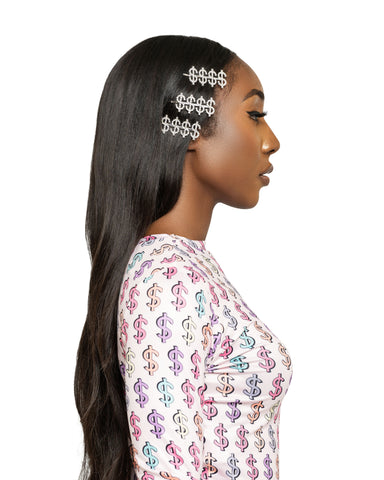 Flower Bomb Sequin Crop