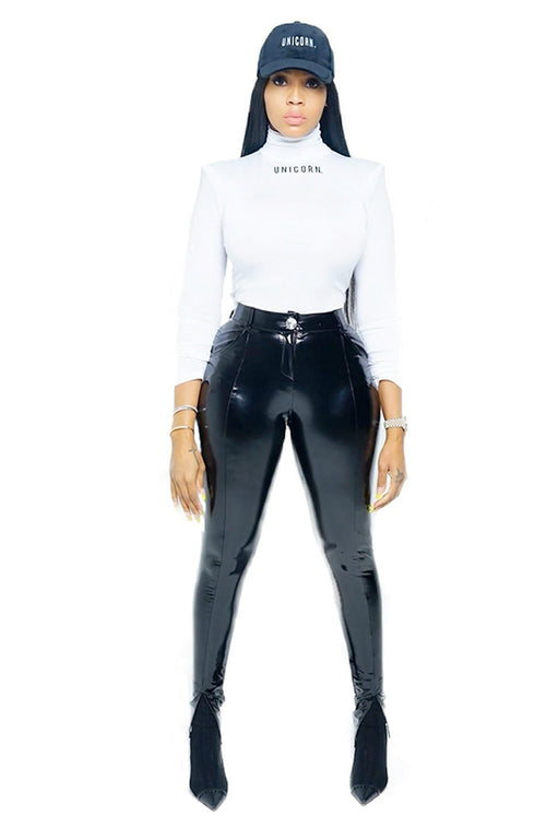 Onyx Latex Pants - The Unicorn Universe