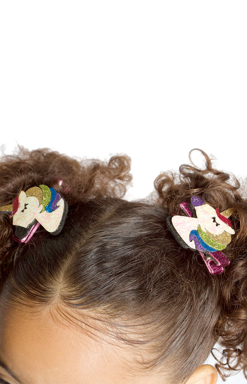 Unicorn Sequin Glitter Hair Clip