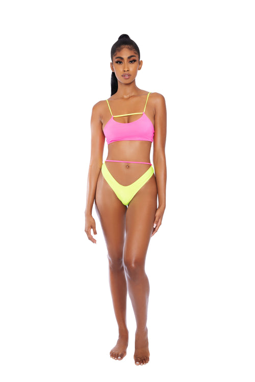 Rich Girl 2 Piece Swimsuit - The Unicorn Universe