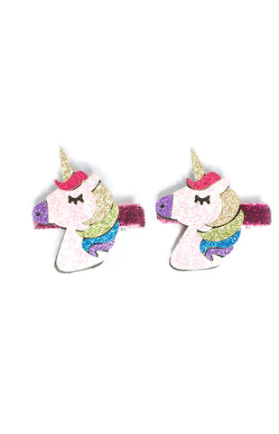 Rainbow Sequin Hair Clip