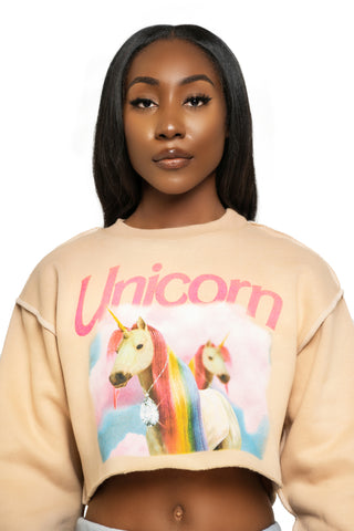 Unicorn Turtleneck Bodysuit