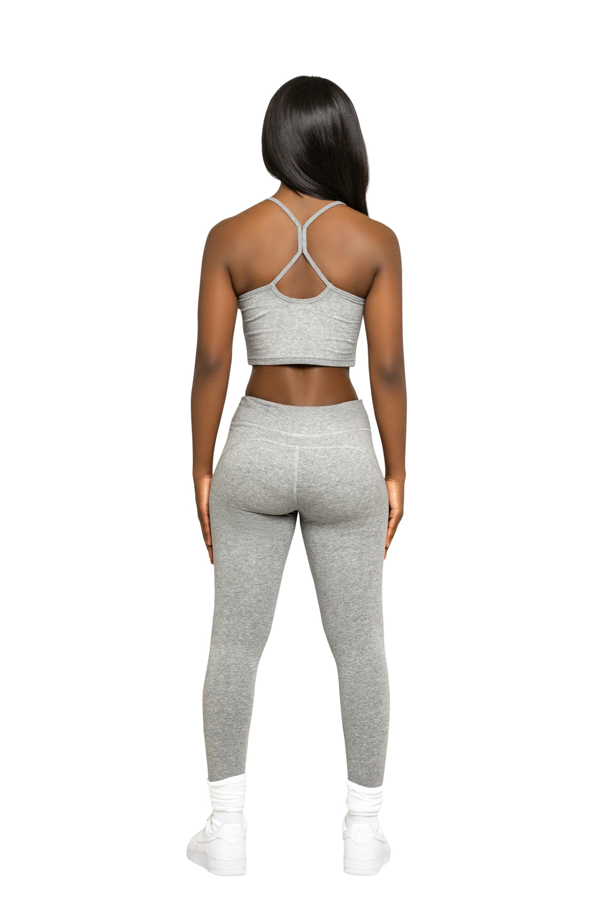Vibes Grey Leggings
