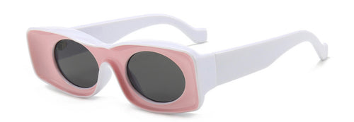 Retro Glasses -Pink