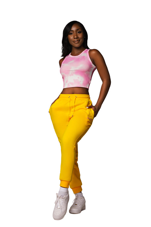 UNICORN Yellow Joggers