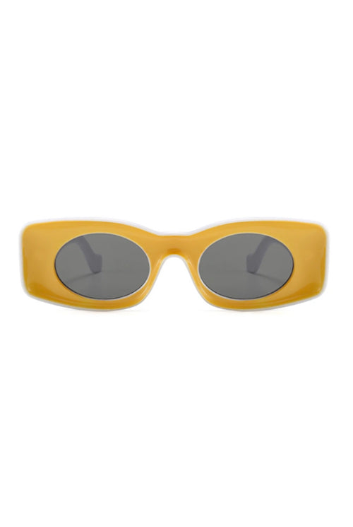 Retro Glasses -Yellow