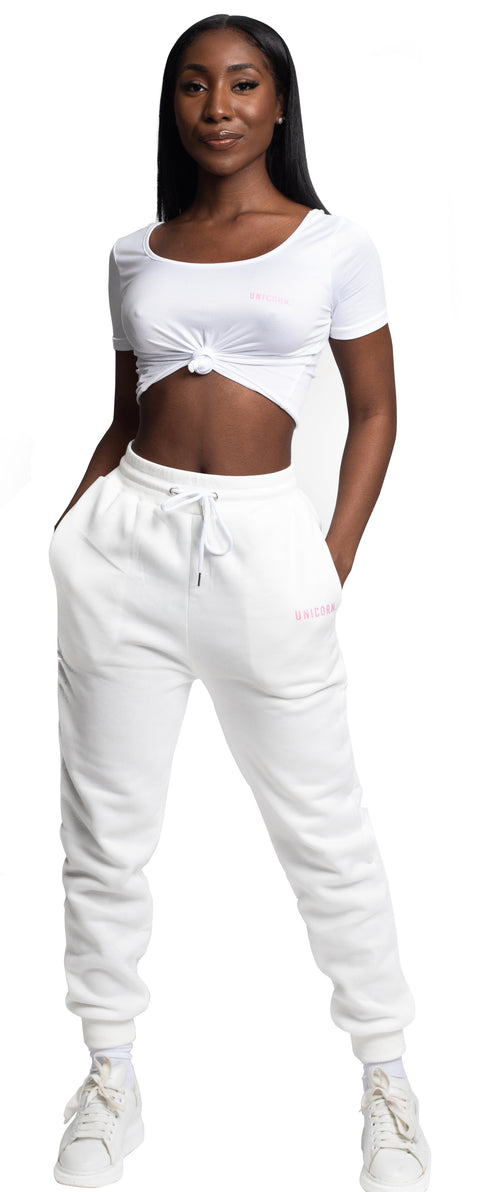 UNICORN White Joggers