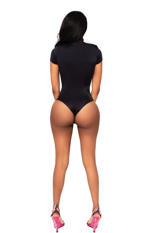 Lux Black Bodysuit