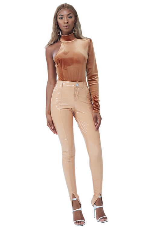One Sleeve Bodysuit
