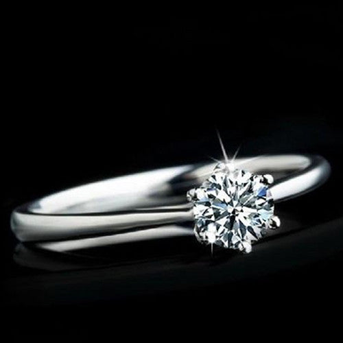 Hot selling Clear Zircon Ring