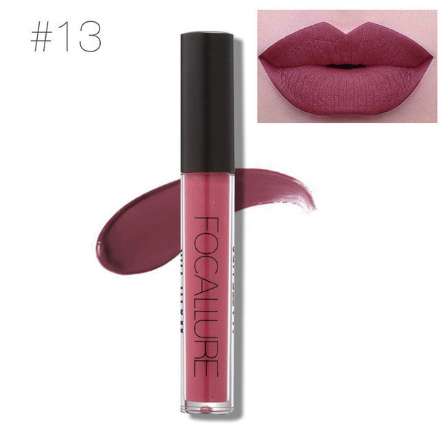 Matte Liquid Lip Gloss Make Up by Focallure