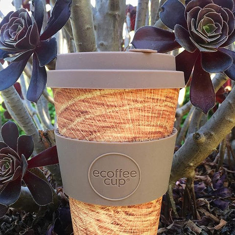 Bamboo Reusable coffee cup ecoffee