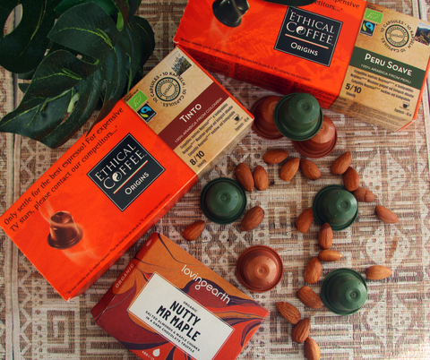 Loving Earth Organic Vegan Chocolate Nutty Mr Maple Ethical Coffee