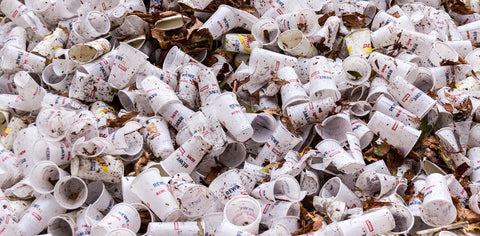 Disposable Coffee Cup Waste