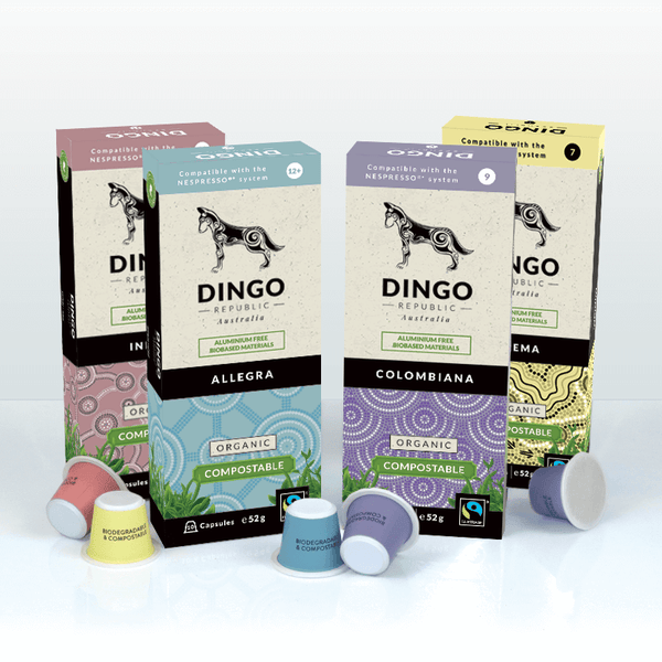 Taster Pack Organic Fairtrade Coffee - 40 Pods | Biodegradable & Compostable