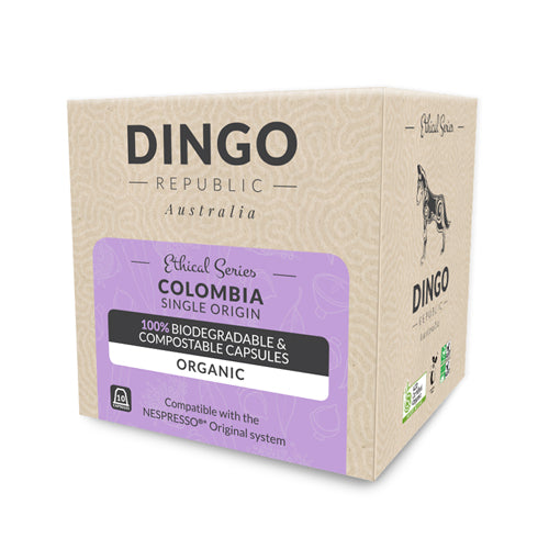 Colombia Organic Coffee - Intensity 8/10 | Biodegradable & Compostable | 10 Pods (2352253796430)