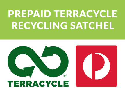 Prepaid TerraCycle Recycling Satchel