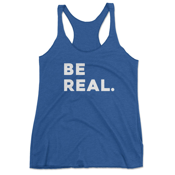 Be Real Yoga Workout Tank Top