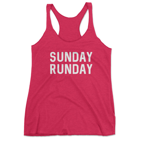 Sunday Runday Running Tank Top