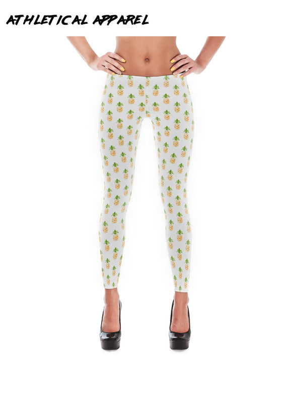 Pineapple Workout Leggings