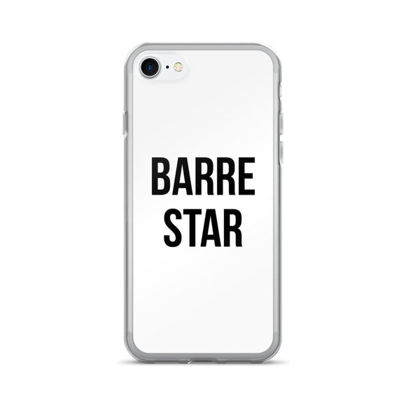 Barre Star Funny iPhone 7 Case For Workouts