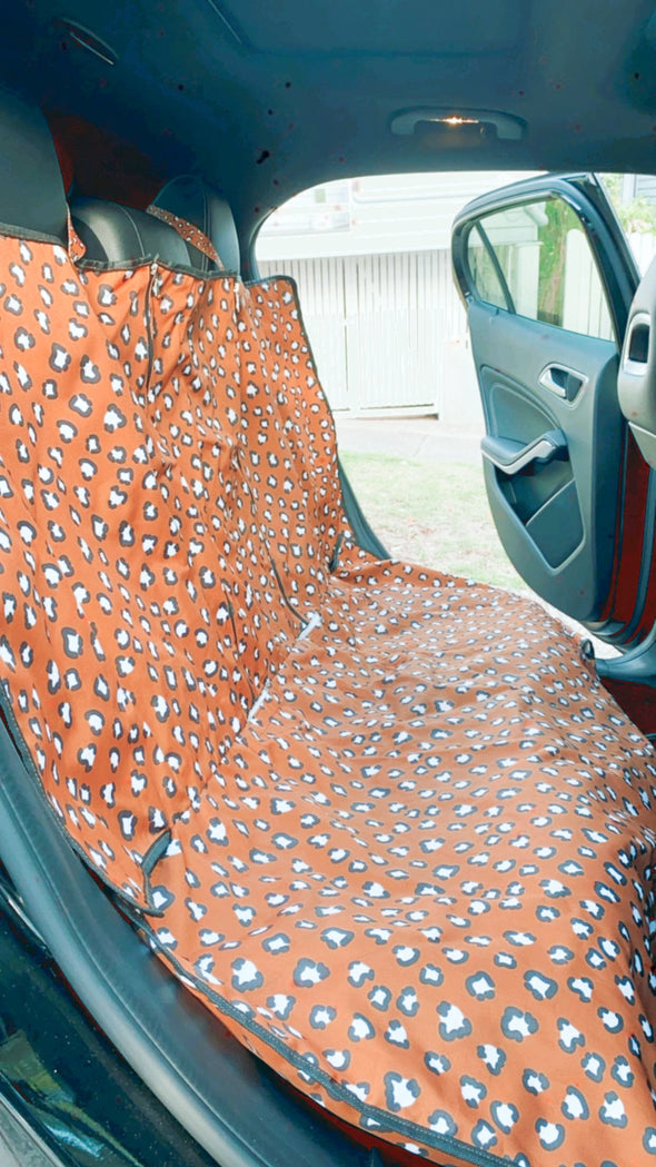 That Leopard Print Car Seat Cover