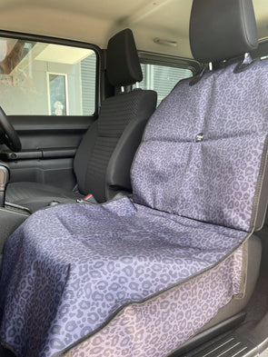 Classic Leopard: Single Car Seat Cover