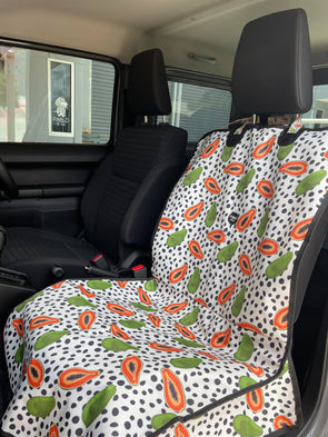 Papaya: Single Car Seat Cover
