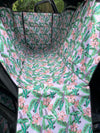 Blushing Parrots: Hammock Car Seat Cover