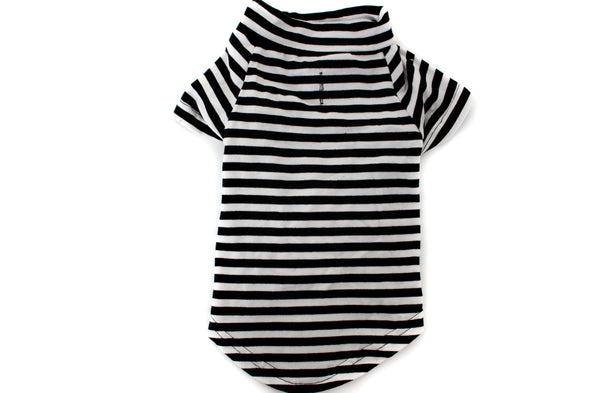The Black & White Striped Tee
